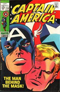 Captain America #144 cover by John Romita, Sr.