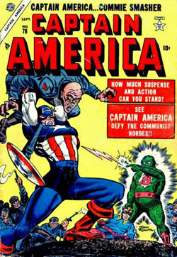 Captain America #78 cover by John Romita, Sr.