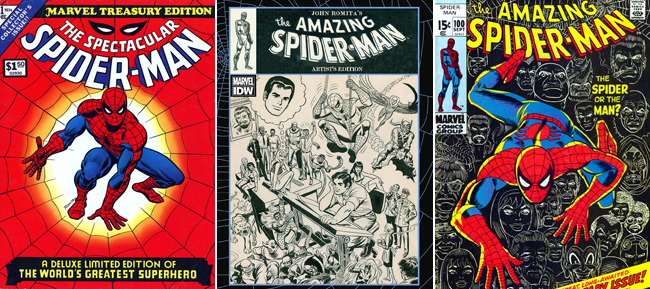 Various  John Romita, Sr. covers
