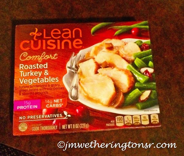 Lean Cuisine Turkey and Vegetables Frozen Dinner