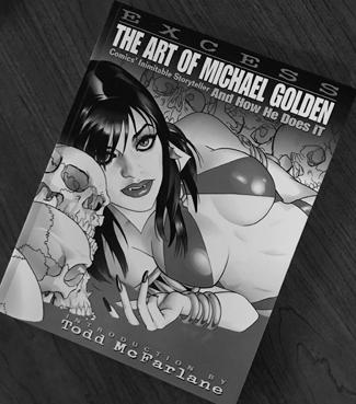 Excess- The Art of Michael Golden