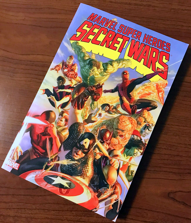 Marvel Super Heroes: Secret Wars collection