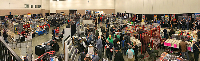 North Texas Comic Book Show Day One Panorama Shot