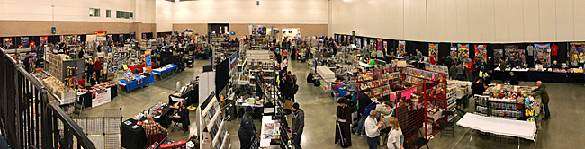 North Texas Comic Book Show Day Two Pano