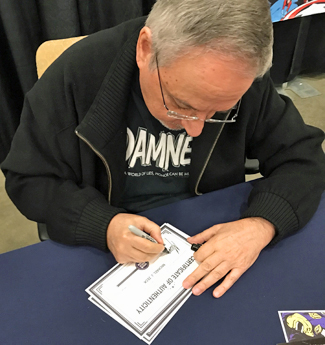 Mike Zeck signing COA's
