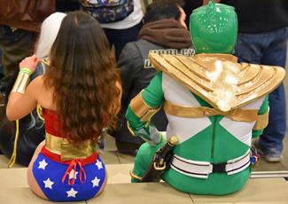 Wonder Woman and Power Ranger