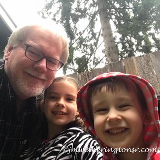 Granddad, Jade and Maxwell