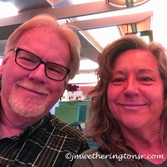 Cindy and Jeff at OIA