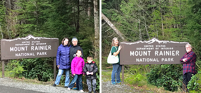 All of us at Mt. Rainier National Forest