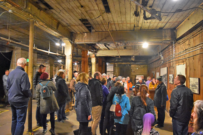 Speakeasy and house of ill repute in Underground Seattle.