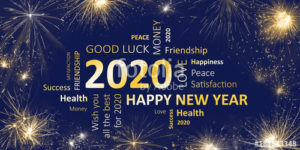 Hashtag Image for Happy New Year 2020