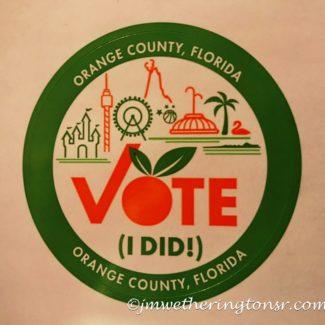 Vote (I Did!) sticker