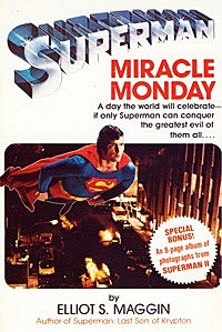 Miracle Monday paperback cover