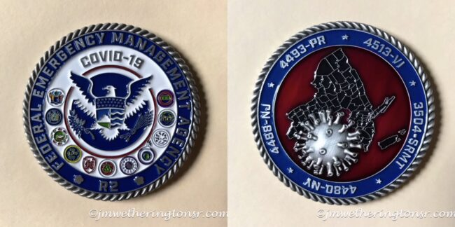 COVID-19 Disaster Commemorative Coin