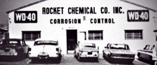 Photo of old Rocket Chemical Company in San Diego, CA